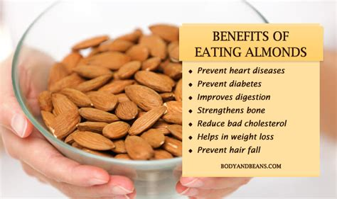 Nutritional Value Of Almonds Nuts  Nutrition Ftempo
