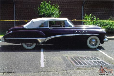 1949 Buick Roadmaster Convertible For Sale by 1949 Buick Roadmaster Convertible