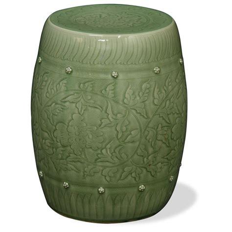 ceramic garden stools antique and asian garden accent garden stool ideas