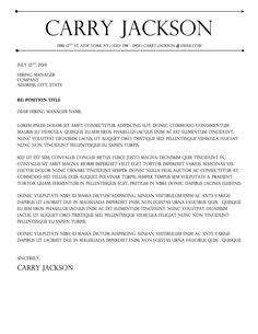 Carry Resume To 1000 images about carry jackson resume template on resume templates resume and