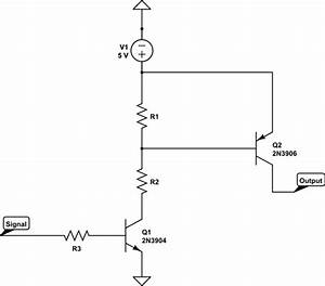transistor command short circuit electrical engineering With short circuit input