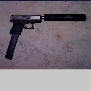 Glock extended clip with suppressor. | Guns | Pinterest ...
