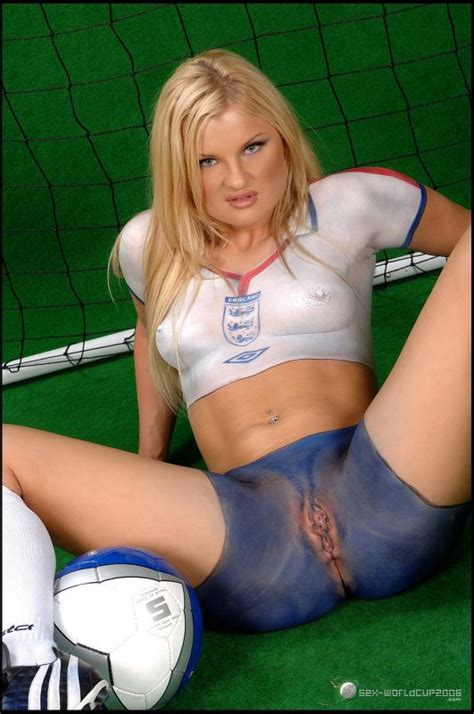 World Cup Body Paint Pussy