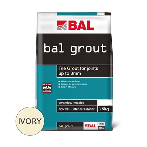 Wall Grout Ivory 3.5 Kg   Tiles UK