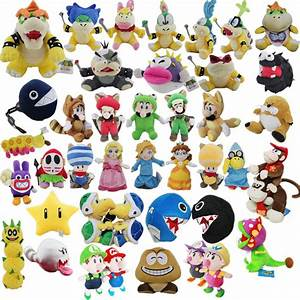 super mario characters pictures and names | Games Info