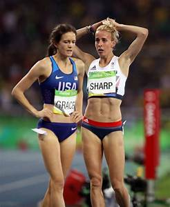 Tearful Lynsey Sharp claims it is 'difficult' to compete ...