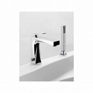 mitigeur bain sur gorge wave robinet and co robinetterie bain With robinetterie baignoire sur gorge