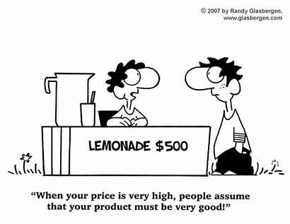 Cartoons Summer Marketing Business Cartoon Glasbergen Kid