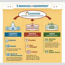 Free 3 Branches Of Government Poster (great For Teachers & Homeschoolers) Infographic
