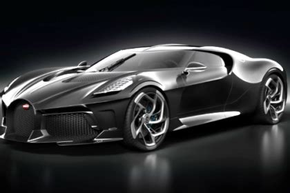 The Most Expensive Bugatti by Bugatti Reveals The Most Expensive New Car Built