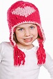 Cute Young Child In Pink Winter Hat Stock Image - Image of ...