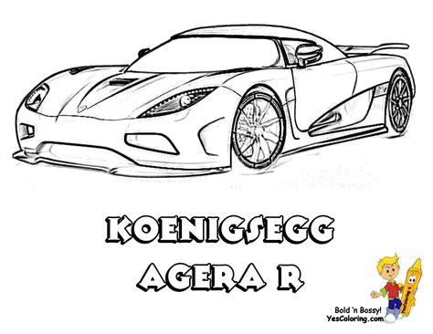 Koenigsegg Agera R Coloring Pages - Democraciaejustica