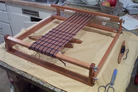 woodworking plans rigid heddle loom   wood  projects crookedfus