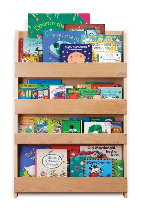 Aufbewahrung Im Kinderzimmer  Ausgezeichnetes Kinder Bücherregal Für Ca 80 Bücher, Natur, Aus Holz, Von Tidy Books