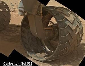 Holy Wheels, Sharp Rocks Force NASA's Curiosity rover to ...