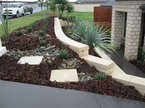 photo of sloping block designs ideas landscaping design and construction by bizscapes