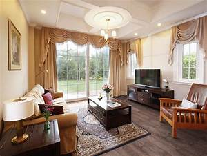 modern european living room french window and wood floors With modern european living room design