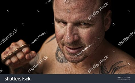 thug brass knuckles stock photo  shutterstock