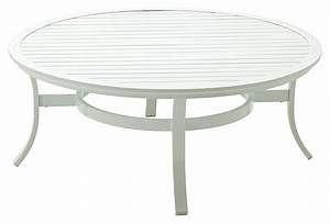 roma round cocktail table white outdoor from one kings lane With white round outdoor coffee table