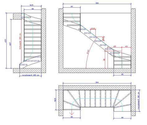 Escalier Calcul Tremie by Escalier Limon Contrainte Schema Et Id 233 Es