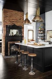 Black, Kitchens, Are, The, New, White, Kitchens