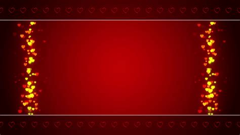 wedding abstract background frame loop stock footage