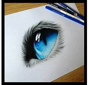 Cat Eye Pencil Drawing Soft Touch And Skill  Art Is