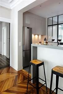 Petit Bar Cuisine : cuisine avec bar atelier ouverte 12 cuisines con ues par un architecte bar cuisines ~ Teatrodelosmanantiales.com Idées de Décoration