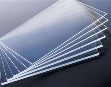 2pcs Clear Acrylic Sheets Transparent Pmma Panels 100mm