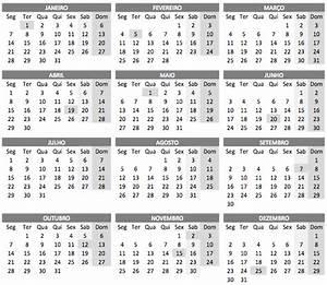 Calendario 2019 Brasil Para Imprimir Car Design Today