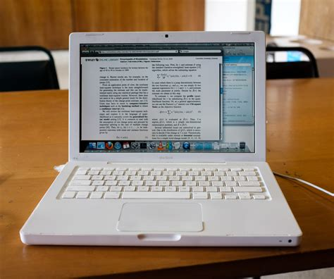 """Typing Latex On My Old Macbook 13""""  In Tower 3 Study Area"""