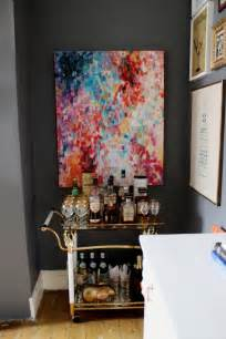 DIY Abstract Painting Impressionist