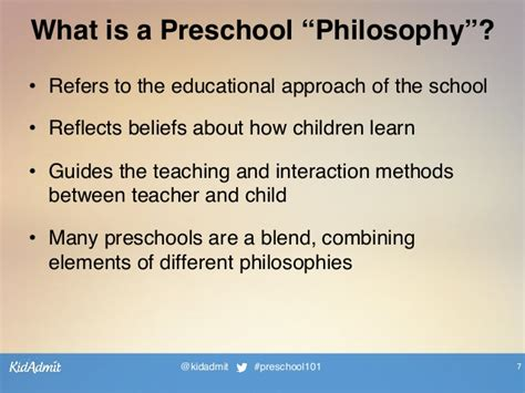kidadmit s preschool 101 webinar series preschool 397 | kidadmits preschool 101 webinar series preschool philosophies 7 638