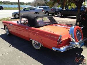 1956 Ford Thunderbird Rare Sunset Coral