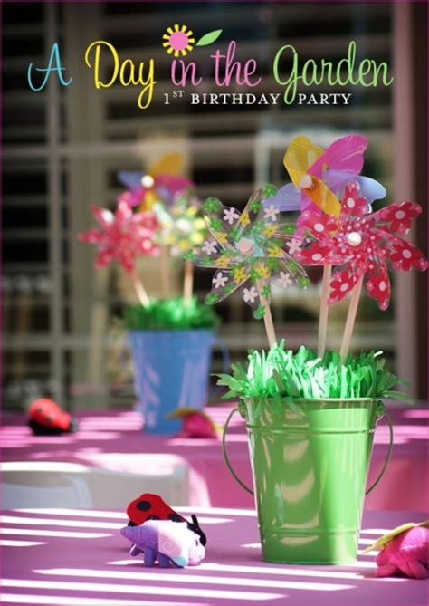 10 Spring Birthday Party Ideas For Girls