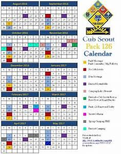 public calendar cub scout pack 126 peoria arizona With boy scout calendar template