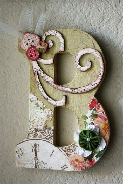 images  wooden letter ideas  pinterest wood letters decorated wooden