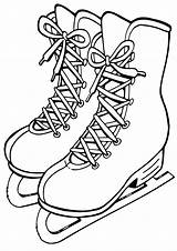Skates Coloring Pages sketch template