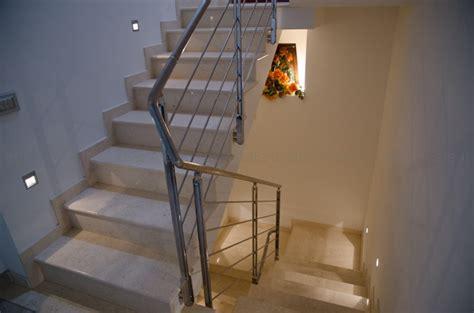 corrimano per scale interne a muro abs scale ringhiera interna in acciaio inox