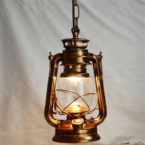 Nordic Nostalgic Lantern Edison Pendant Light ,vintage