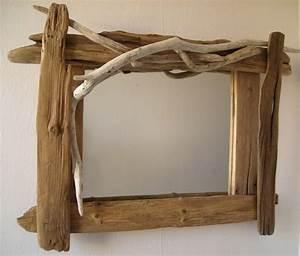 Miroir Bois Flotté : miroir planches n 17 au fil de l 39 eau bois flott ~ Teatrodelosmanantiales.com Idées de Décoration