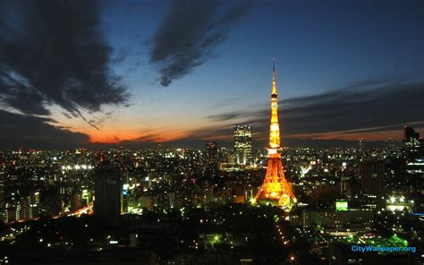 tokyo tower japan cities landscape photography wallpaper