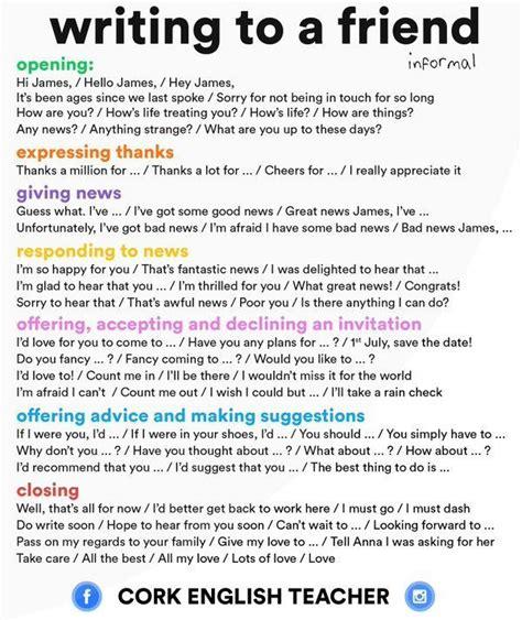 english letter writing ideas  pinterest