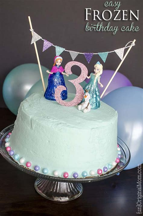 easy birthday cakes for easy frozen birthday cake