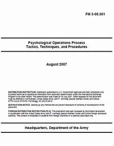 Restricted U.S. Army Psychological Operations Process ...