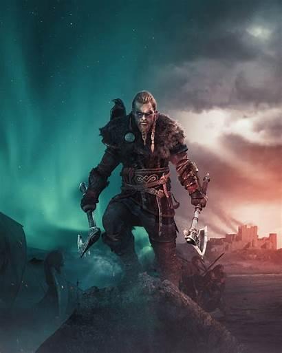 Creed Assassin Valhalla Viking Wallpapers Ubisoft Phone