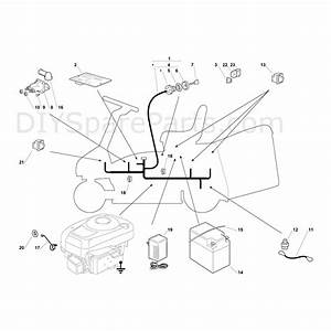 Mountfield R25m Tractor  2009  Parts Diagram  Page 11
