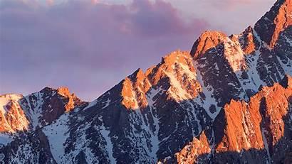 Sierra Macos Apple Background Mountain Mac Wallpapers