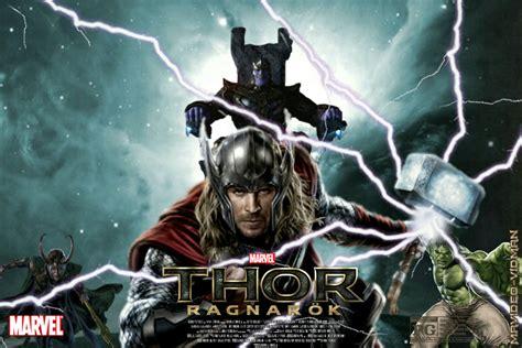 thor ragnarok fan event thor ragnarok movie poster fan made by mrvideo vidman on