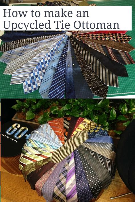 how to make an ottoman how to make an upcycled tie ottoman recycled interiors